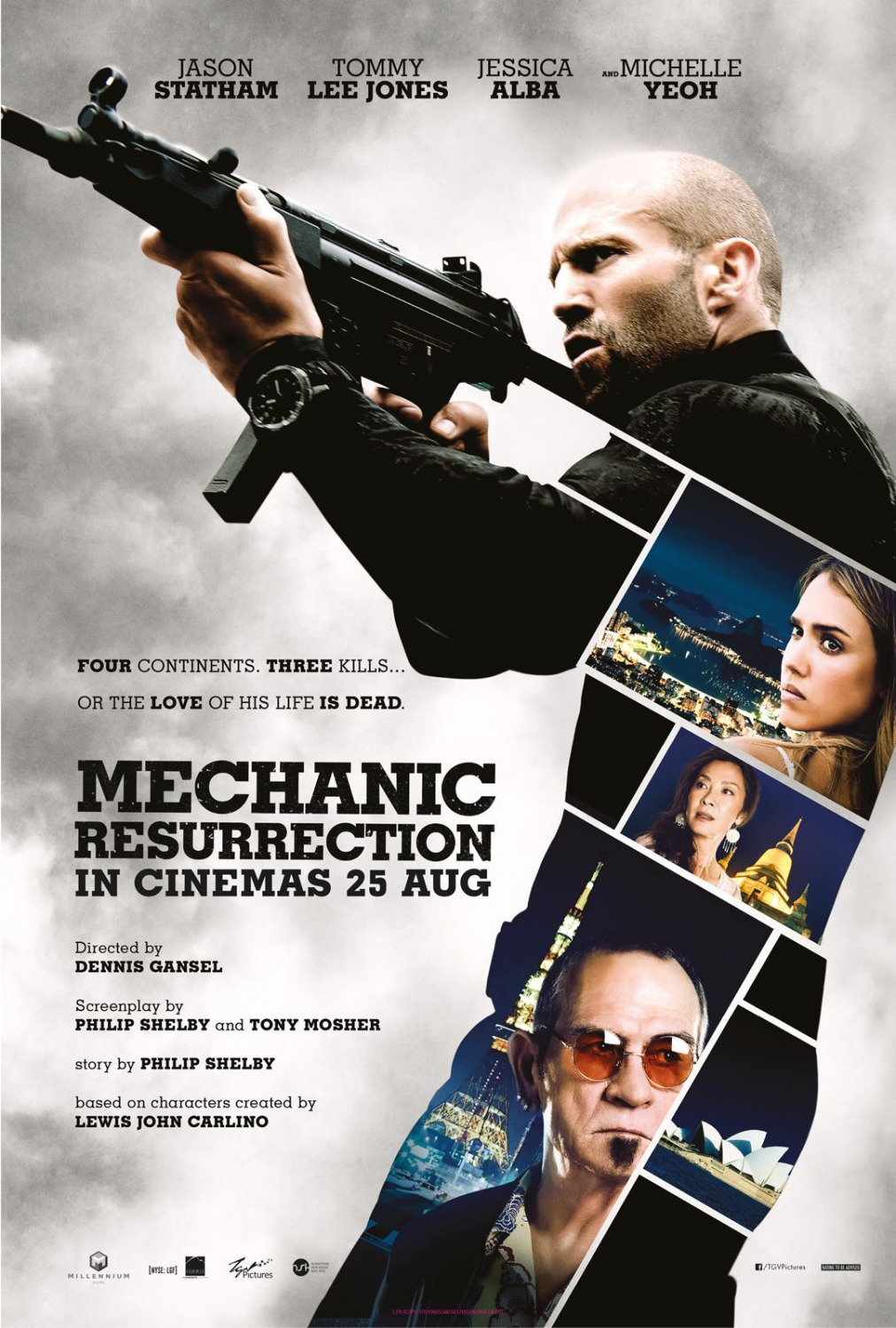 Nonton Film Mechanic: Resurrection (2016)