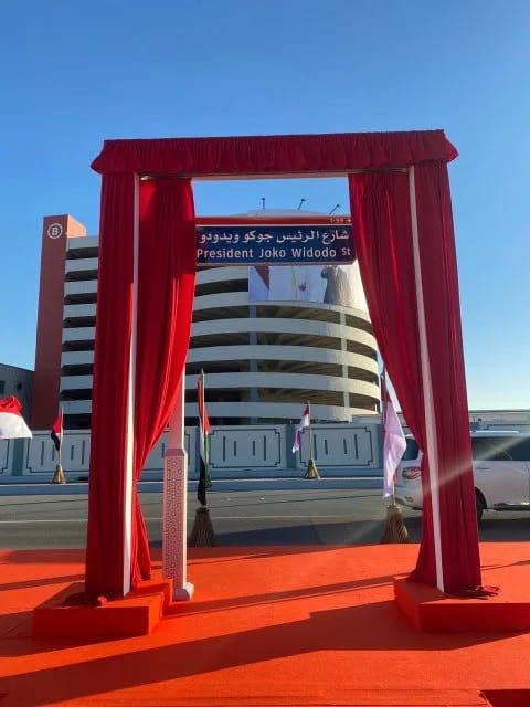 Ada Jalan 'President Joko Widodo' di Uni Emirat Arab