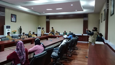 Dugaan Penyerobotan Tanah, Abdul Hamid CS Datangi Kantor BPN dan Pemda Wajo