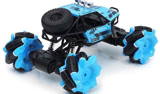 The Flyers Bay RC Drift Rock Crawler Radio Remote Control 360°Rotation Stunt Racing Truck 2.4GHz