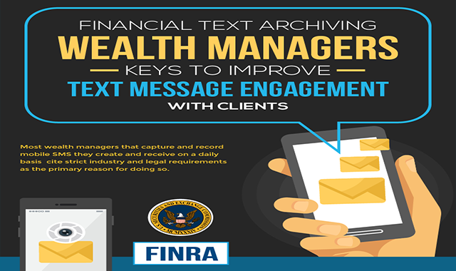 Financial Text Archiving – Wealth Managers Keys to Improve Text Message Engagement with Clients