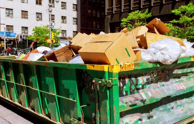 Trash Hauling Service Removes and Dumps the Trash Properly!