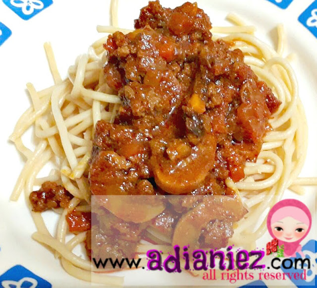 Berbuka Ramadhan 15 : Spaghetti Bolognese