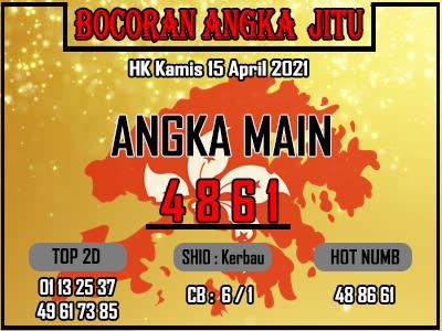 Bocoran HK 2D Kamis 15 April 2021