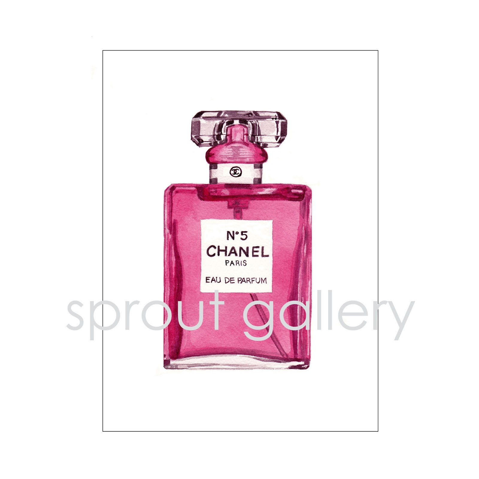 Sprout Gallery A Little Chanel No 5