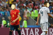 5 Fixtures of Spain Vs Russia Match's, Own Goal of the Oldest Players