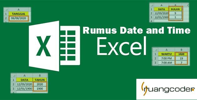Rumus Date and Time pada Microsoft Excel