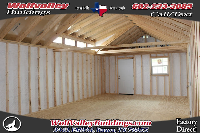 Wolfvalley Buildings Storage Shed Blog This 16x36 Dormer