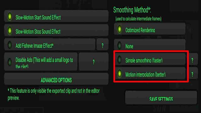 Cara membuat video slowmotion tidak patah patah