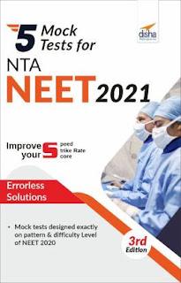 Disha 5 Mock Test For NEET 2021 3rd Edition [PDF]