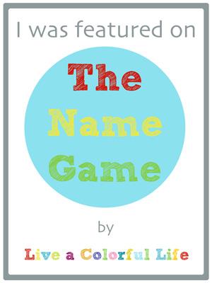 Live a Colorful Life: The Name Game: Evil Demon Devil Dog