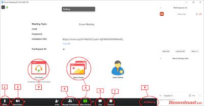 Hướng dẫn dạy online (trực tuyến) bằng phần mềm Zoom