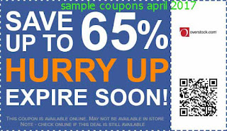 Overstock coupons april