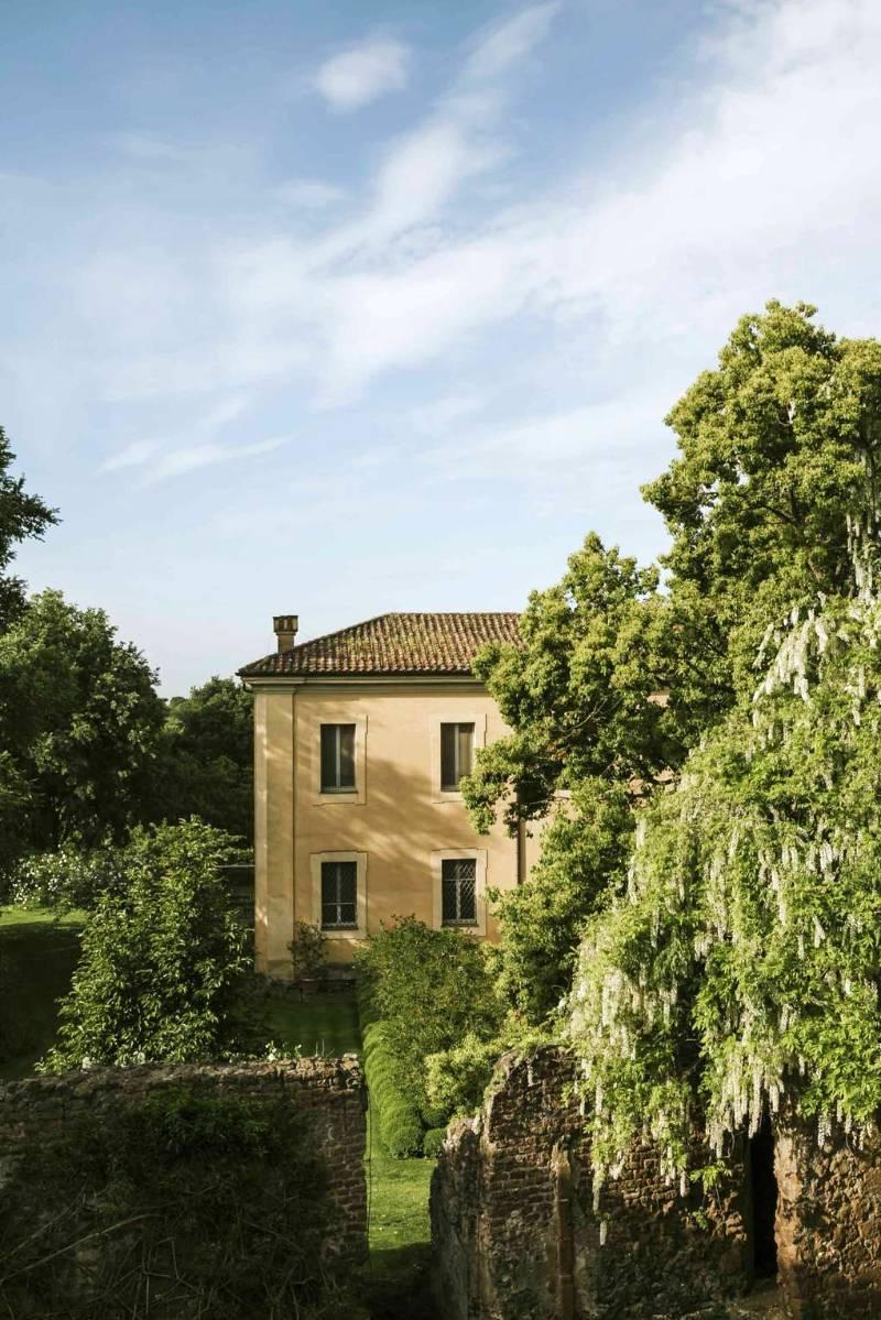 Pabellón principal en Torrecchia Vecchia