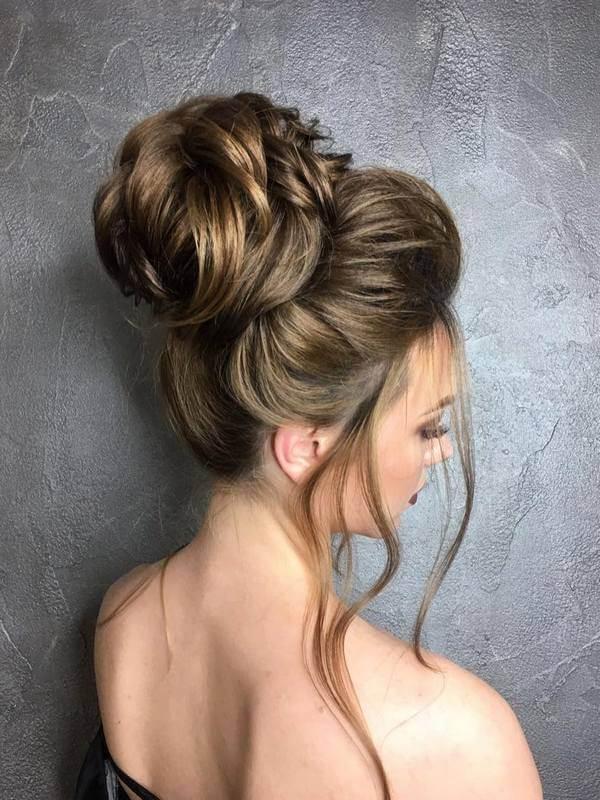 gelin saçı ve topuz modelleri
