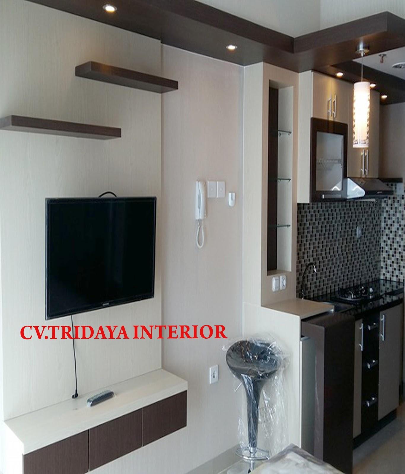 Cv Tridaya Interior Paket Apartement Studio Murah Design