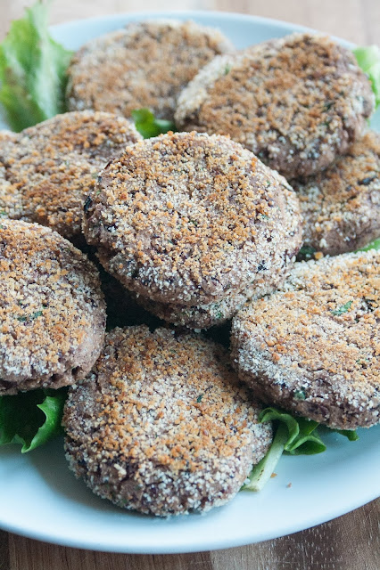 Polpette vegetariane di fagioli rossi