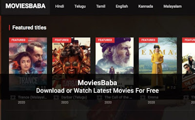 MoviesBaba Website 2020: Download Movies & TV Shows For Free – Is It Legal?