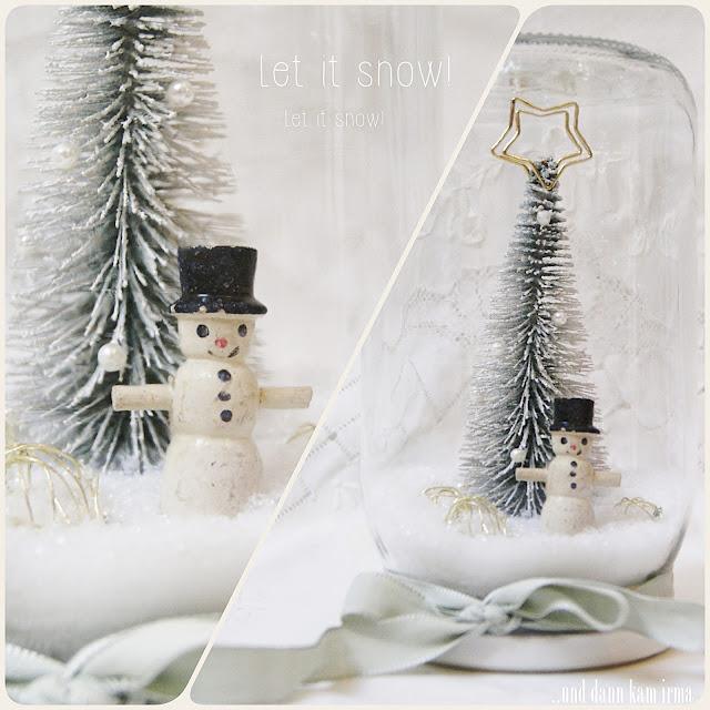 Anleitung, Blogger-Adventskalender, DIY, Einmachglas, Eisvogel, Reh, Schneelandschaft, Schneemann, Tutorial, Weihnachten, Weihnachtsbaum, Weihnachtsdekoration,