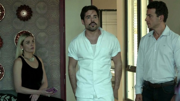 Abel se oferece para preparar os pratos do casamento (Imagem: Reprodução/TV Globo)
