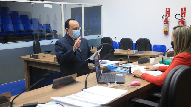 Suplente Inácio de Gelo toma posse na Câmara Municipal de Patos