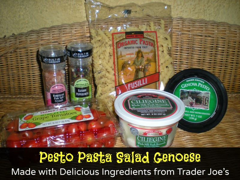 Trader Joe's Pesto Pasta Salad