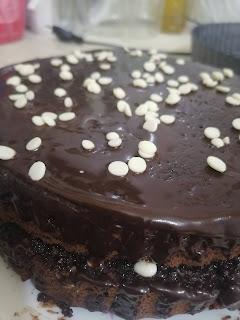 Gâteau au chocolat sans chocolat