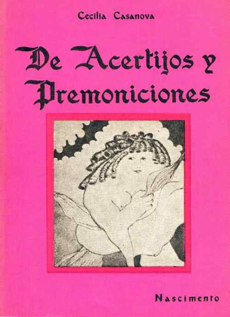 Prólogo de De acertijos y premoniciones, de Cecilia Casanova por Enrique Lihn