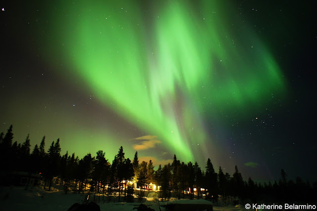 Northern Lights Photograph with Sony Mirrorless Camera