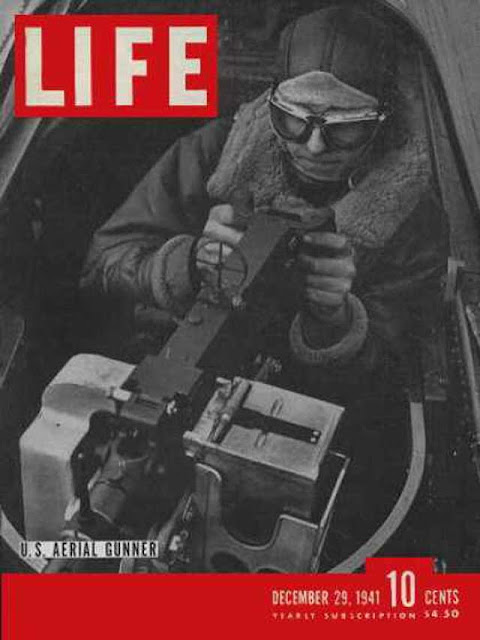 "Life magazine ""Aerial Gunner,"" 29 December 1941 worldwartwo.filminspector.com"