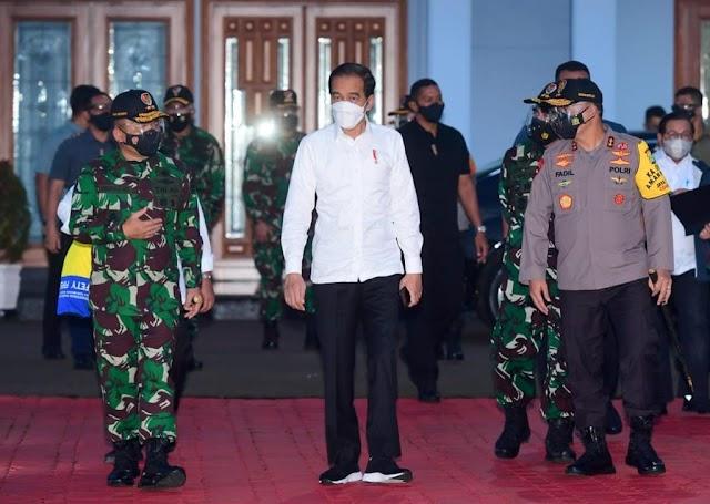 Bertolak ke NTT,  Jokowi Tinjau Food Estate dan Resmikan Bendungan Napun Gete