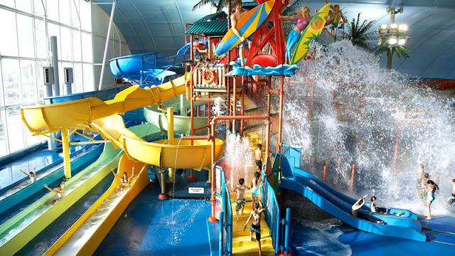 Fallsview Indoor Water Park em Niagara Falls
