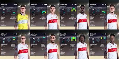 PES 2021 VfB Stuttgart Facepack V4 by I3ens