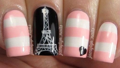 Lindisima Blog Uñas Decoradas Con Paris