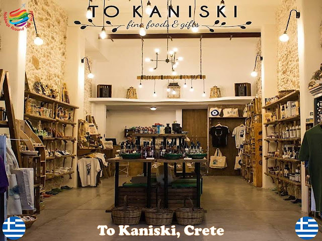 The most famous shopping places in Crete, Greece