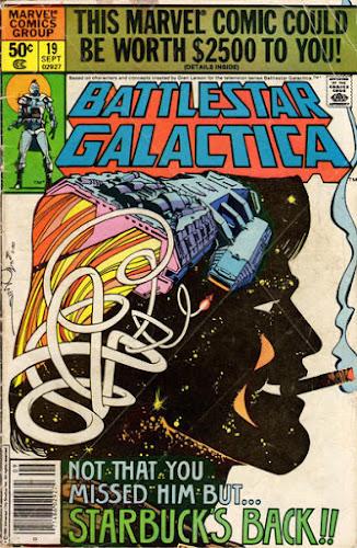 Battlestar Galactica #19. Walt Simonson