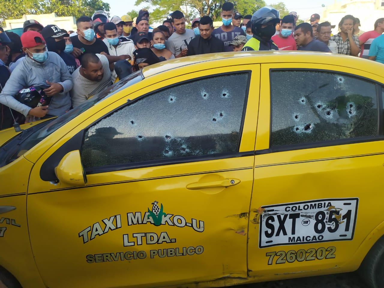 hoyennoticia.com, Tres muertos deja ataque sicarial en Maicao