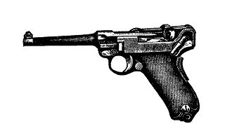 gun pistol luger digital download
