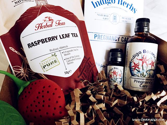 Indigo Herbs Pregnancy Care Gift Box | Love, Maisie