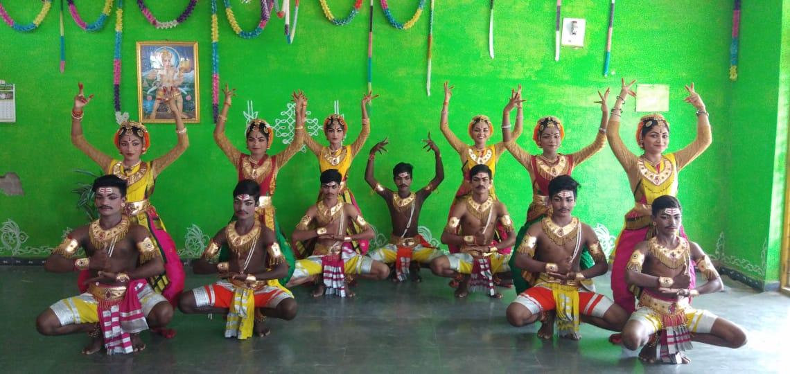 పేరిణి నాట్యం -2 శింజారవం, శ్రీరామభట్ల ఆదిత్య