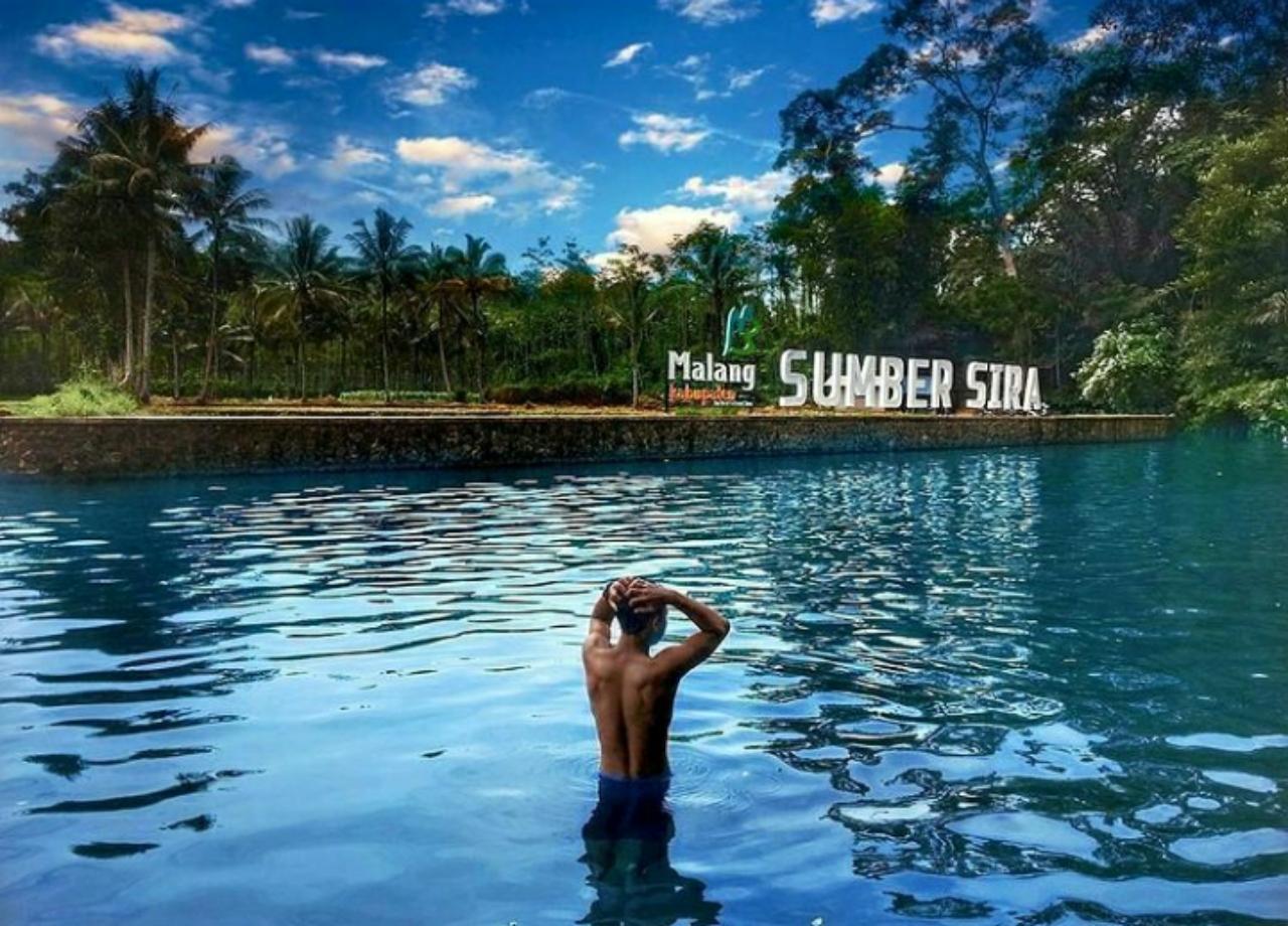 Tiket masuk mata air sumber sirih wisata favotir di malang