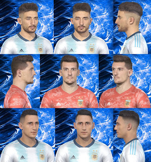 PES 2019 Facepack Argentina NT by Fede