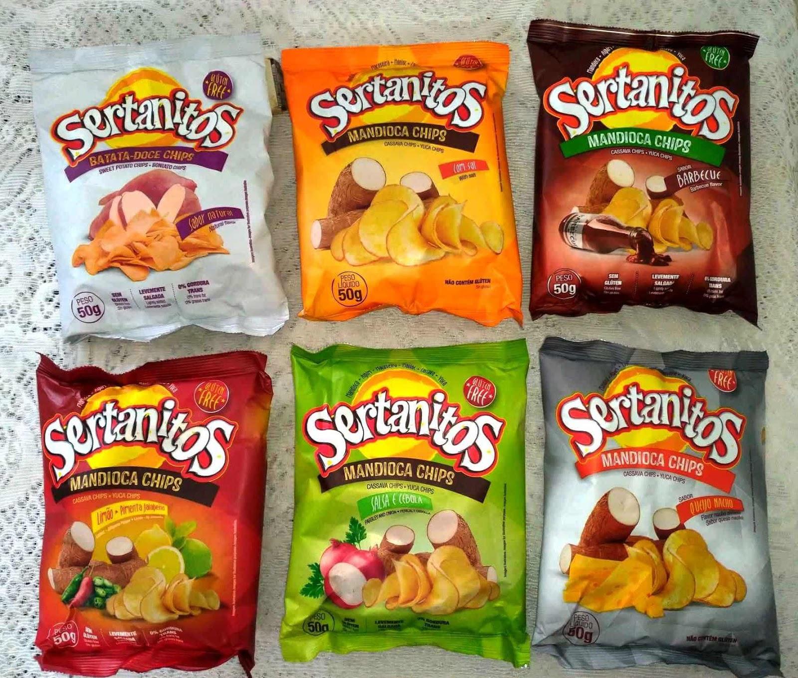 Sertanitos é um chips crocante, que é ótima opção de petisco ou lanche rápido!