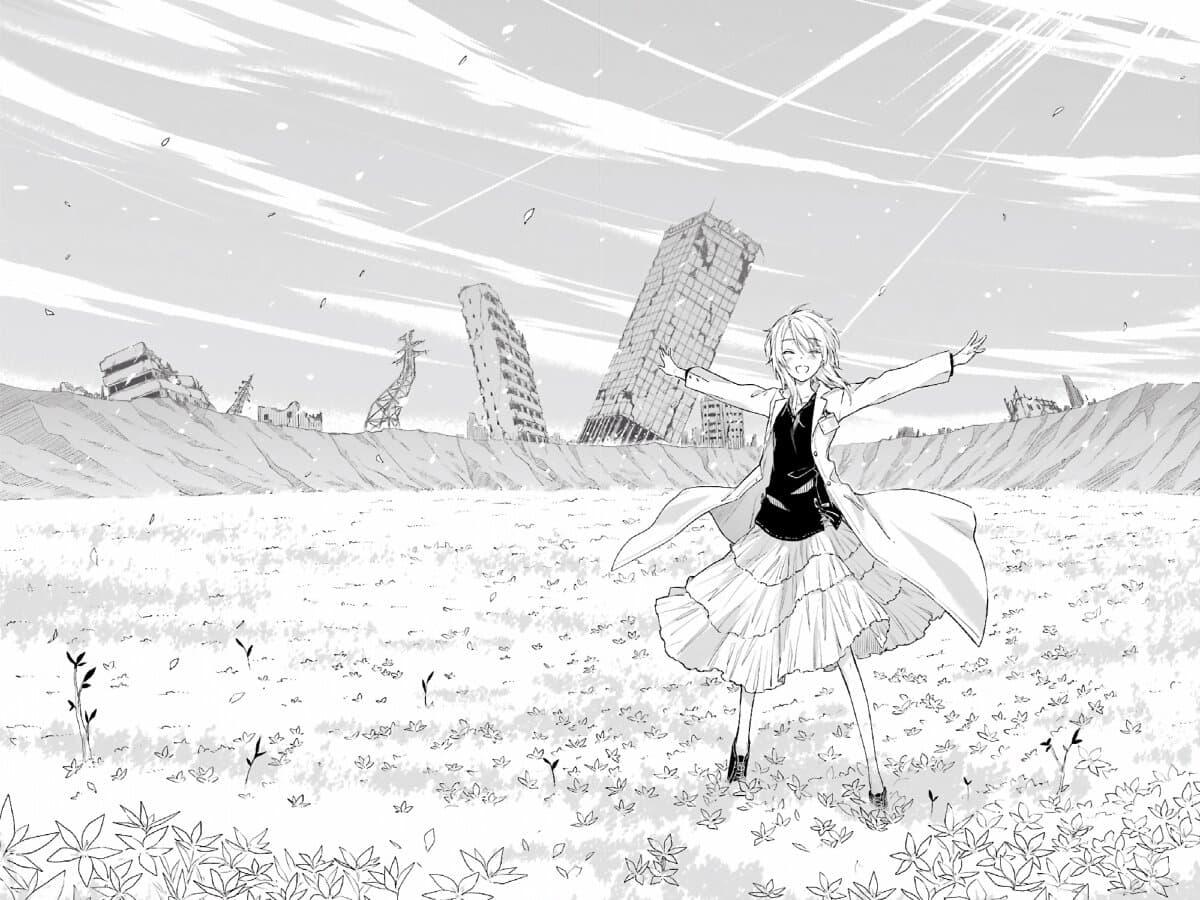 อ่านการ์ตูน Tabi to Gohan to Shuumatsu Sekai ตอนที่ 9 หน้าที่ 44