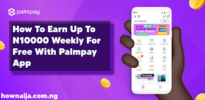 How To Earn Up To N10000 Weekly For Free With Palmpay App