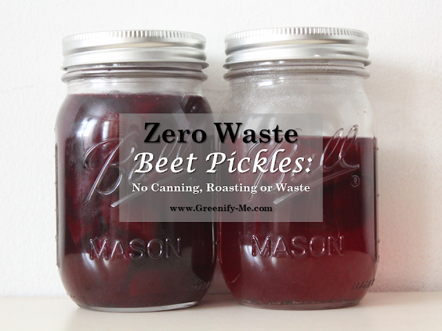 zero waste beet pickles