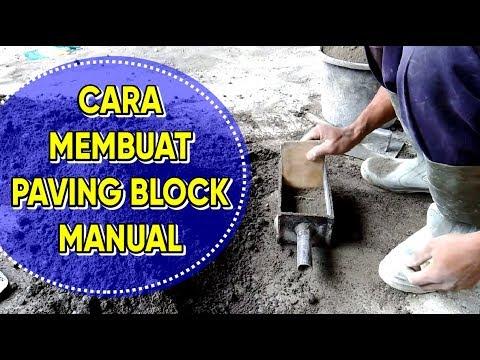 Cara Membuat Paving Block Secara Mandiri, Lihat Yuk!