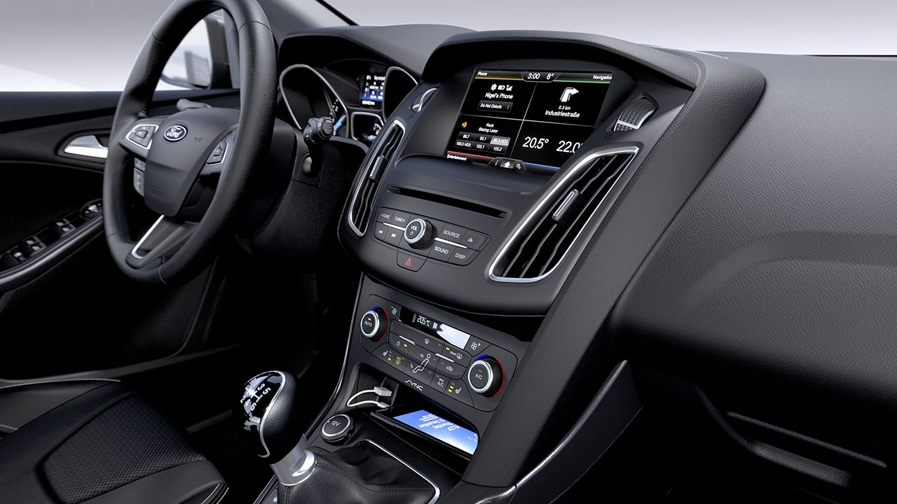 Ford Focus dash