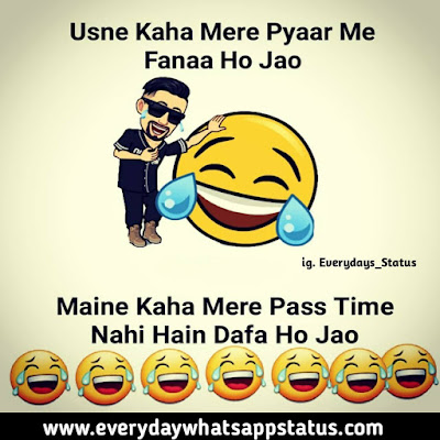 """Funny Status in Hindi 