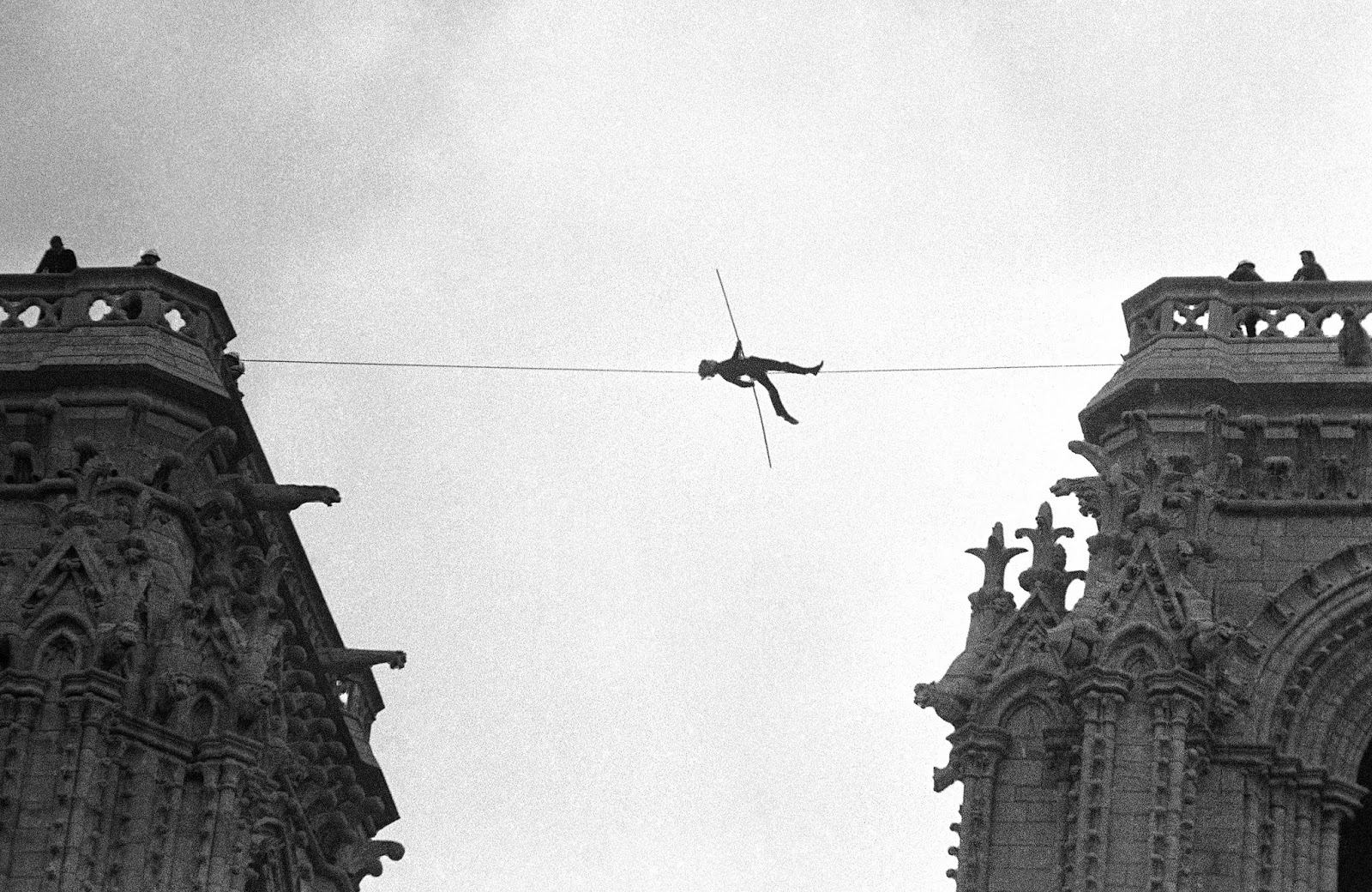 youtube Philippe Petit man wire